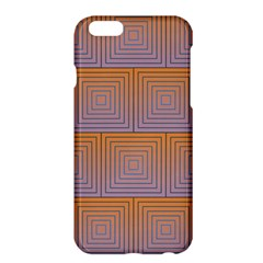 Brick Wall Squared Concentric Squares Apple Iphone 6 Plus/6s Plus Hardshell Case