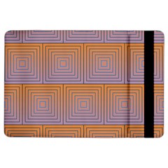 Brick Wall Squared Concentric Squares Ipad Air 2 Flip