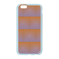 Brick Wall Squared Concentric Squares Apple Seamless iPhone 6/6S Case (Color)