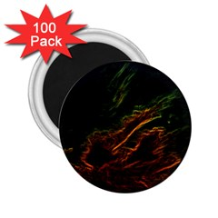 Abstract Glowing Edges 2.25  Magnets (100 pack)