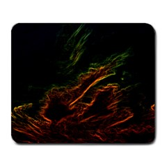 Abstract Glowing Edges Large Mousepads