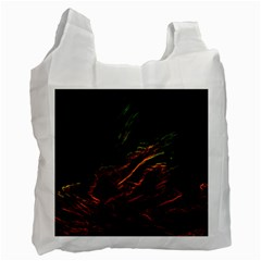 Abstract Glowing Edges Recycle Bag (two Side)