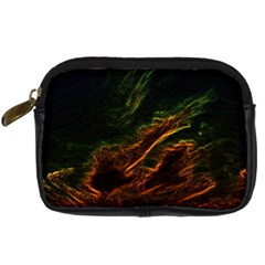 Abstract Glowing Edges Digital Camera Cases