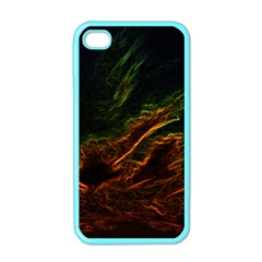 Abstract Glowing Edges Apple iPhone 4 Case (Color)