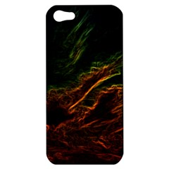 Abstract Glowing Edges Apple iPhone 5 Hardshell Case