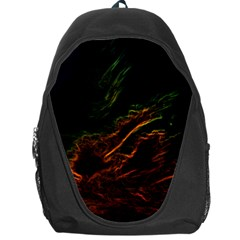 Abstract Glowing Edges Backpack Bag