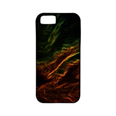 Abstract Glowing Edges Apple iPhone 5 Classic Hardshell Case (PC+Silicone)
