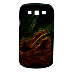 Abstract Glowing Edges Samsung Galaxy S III Classic Hardshell Case (PC+Silicone)