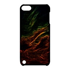 Abstract Glowing Edges Apple iPod Touch 5 Hardshell Case with Stand