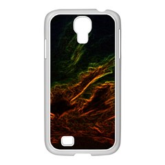 Abstract Glowing Edges Samsung GALAXY S4 I9500/ I9505 Case (White)