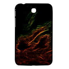 Abstract Glowing Edges Samsung Galaxy Tab 3 (7 ) P3200 Hardshell Case