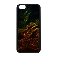 Abstract Glowing Edges Apple Iphone 5c Seamless Case (black)