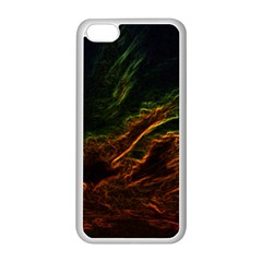 Abstract Glowing Edges Apple Iphone 5c Seamless Case (white)