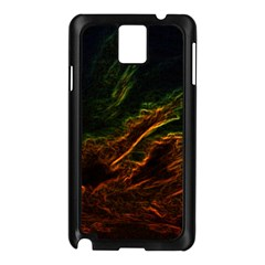 Abstract Glowing Edges Samsung Galaxy Note 3 N9005 Case (Black)