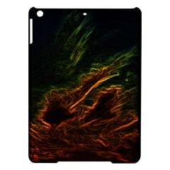 Abstract Glowing Edges iPad Air Hardshell Cases