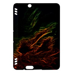 Abstract Glowing Edges Kindle Fire HDX Hardshell Case