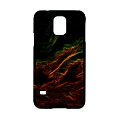 Abstract Glowing Edges Samsung Galaxy S5 Hardshell Case