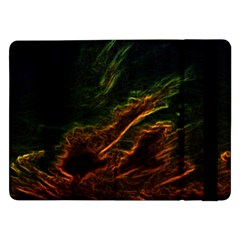 Abstract Glowing Edges Samsung Galaxy Tab Pro 12.2  Flip Case