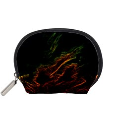 Abstract Glowing Edges Accessory Pouches (Small)