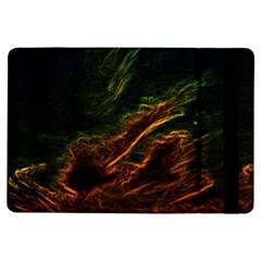 Abstract Glowing Edges iPad Air Flip