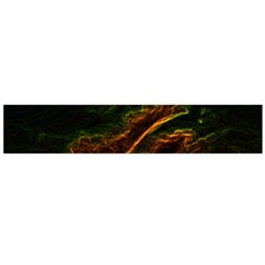 Abstract Glowing Edges Flano Scarf (Large)