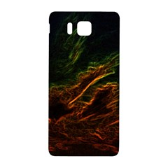 Abstract Glowing Edges Samsung Galaxy Alpha Hardshell Back Case