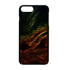 Abstract Glowing Edges Apple Iphone 7 Plus Seamless Case (black)