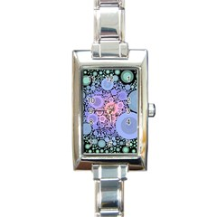 An Abstract Background Consisting Of Pastel Colored Circle Rectangle Italian Charm Watch