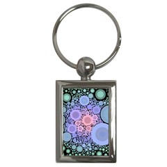 An Abstract Background Consisting Of Pastel Colored Circle Key Chains (rectangle)