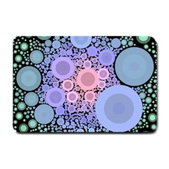 An Abstract Background Consisting Of Pastel Colored Circle Small Doormat