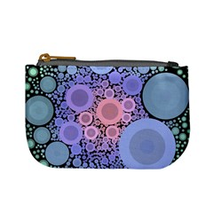 An Abstract Background Consisting Of Pastel Colored Circle Mini Coin Purses