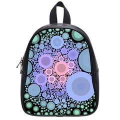 An Abstract Background Consisting Of Pastel Colored Circle School Bags (small)