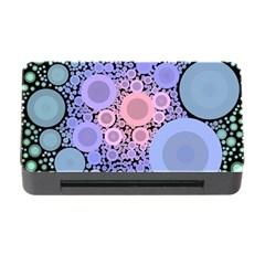 An Abstract Background Consisting Of Pastel Colored Circle Memory Card Reader with CF