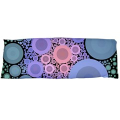 An Abstract Background Consisting Of Pastel Colored Circle Body Pillow Case Dakimakura (two Sides)