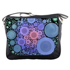 An Abstract Background Consisting Of Pastel Colored Circle Messenger Bags
