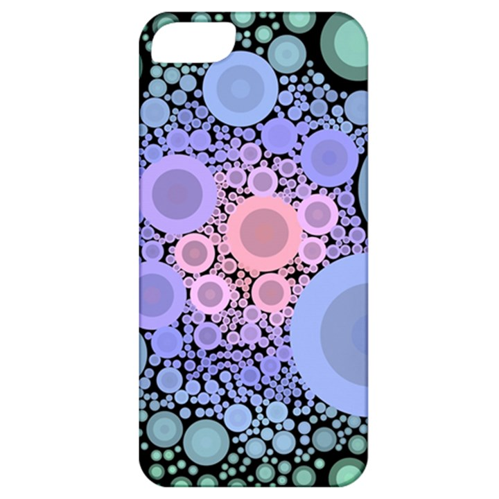 An Abstract Background Consisting Of Pastel Colored Circle Apple iPhone 5 Classic Hardshell Case