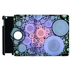 An Abstract Background Consisting Of Pastel Colored Circle Apple iPad 2 Flip 360 Case