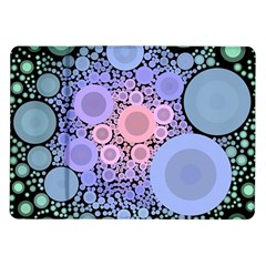 An Abstract Background Consisting Of Pastel Colored Circle Samsung Galaxy Tab 10.1  P7500 Flip Case