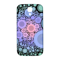 An Abstract Background Consisting Of Pastel Colored Circle Samsung Galaxy S4 I9500/I9505  Hardshell Back Case
