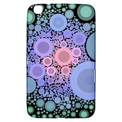 An Abstract Background Consisting Of Pastel Colored Circle Samsung Galaxy Tab 3 (8 ) T3100 Hardshell Case