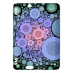 An Abstract Background Consisting Of Pastel Colored Circle Kindle Fire HDX Hardshell Case