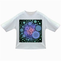 An Abstract Background Consisting Of Pastel Colored Circle Infant/Toddler T-Shirts