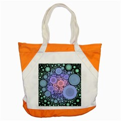 An Abstract Background Consisting Of Pastel Colored Circle Accent Tote Bag