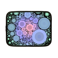 An Abstract Background Consisting Of Pastel Colored Circle Netbook Case (small)