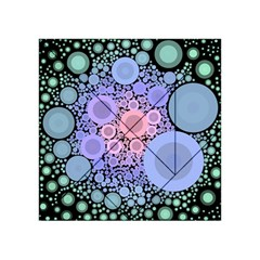 An Abstract Background Consisting Of Pastel Colored Circle Acrylic Tangram Puzzle (4  x 4 )