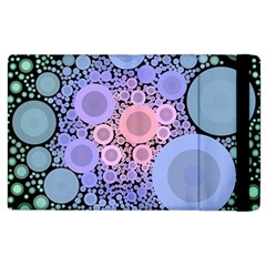 An Abstract Background Consisting Of Pastel Colored Circle Apple Ipad 2 Flip Case