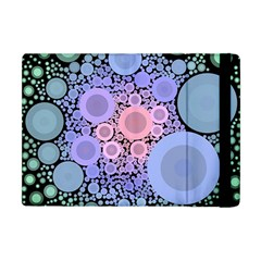 An Abstract Background Consisting Of Pastel Colored Circle Apple Ipad Mini Flip Case