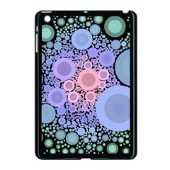 An Abstract Background Consisting Of Pastel Colored Circle Apple iPad Mini Case (Black)