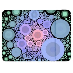 An Abstract Background Consisting Of Pastel Colored Circle Samsung Galaxy Tab 7  P1000 Flip Case