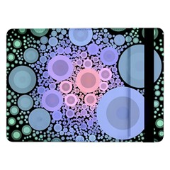 An Abstract Background Consisting Of Pastel Colored Circle Samsung Galaxy Tab Pro 12 2  Flip Case